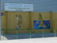 Renovación del gimnasio de la plaza de deportes Nº 6
